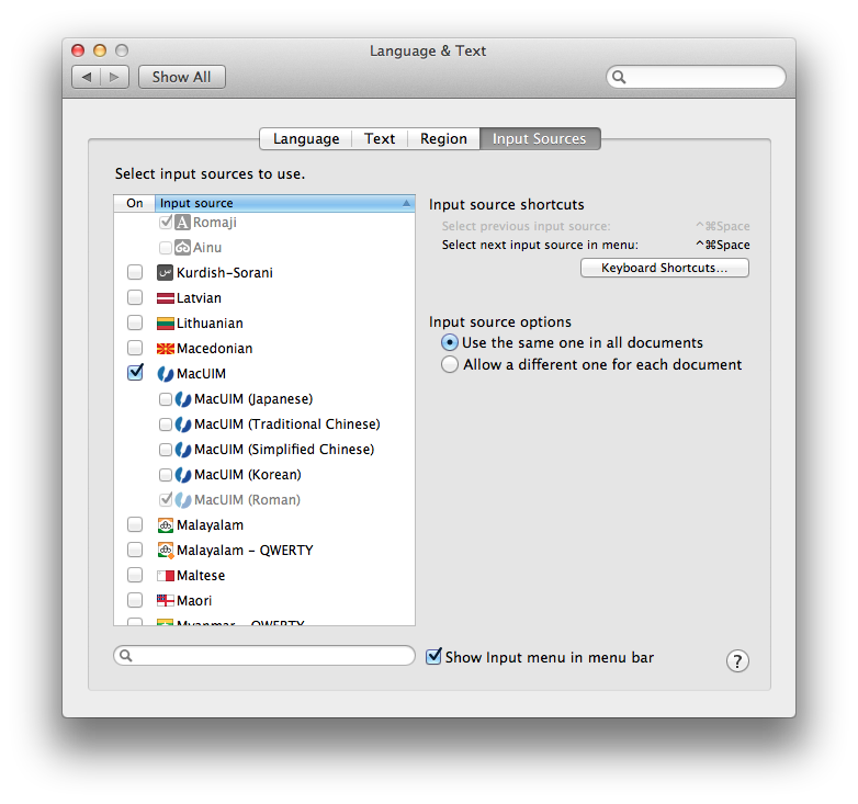 Typing Kannada on Mac OS X | The Lumber Room